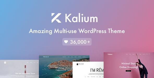 Super Kalium - Creative Theme for Professionals