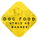Animated Html5 Dog Food Ad Banners Template