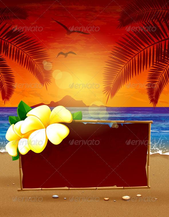 Seascape Background - Landscapes Nature