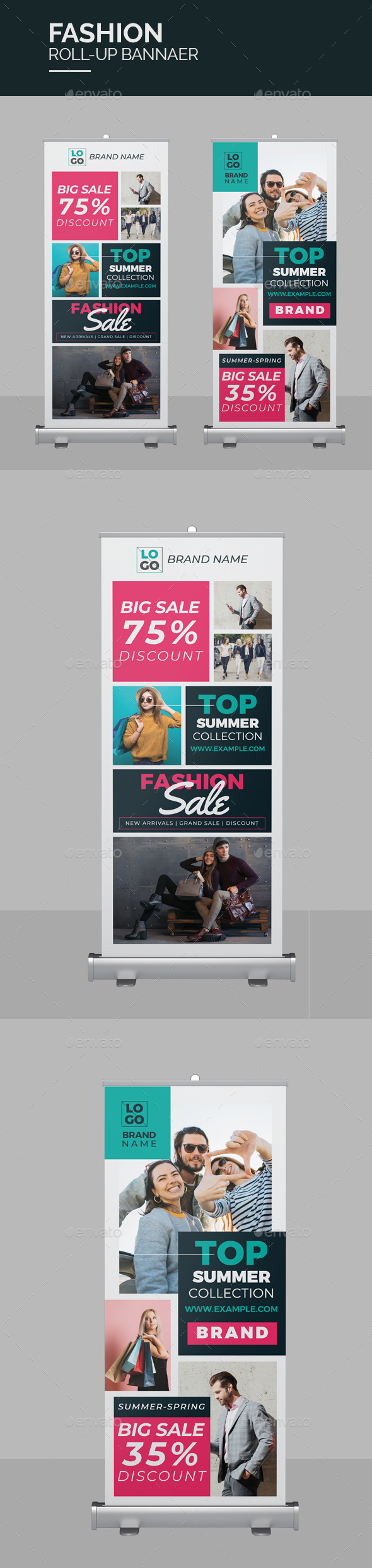 Fashion Roll-Up Banner