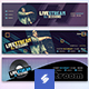 Electronic Music Channel – Youtube Banner Templates 02