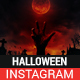 Halloween Instagram Story and Banner Templates