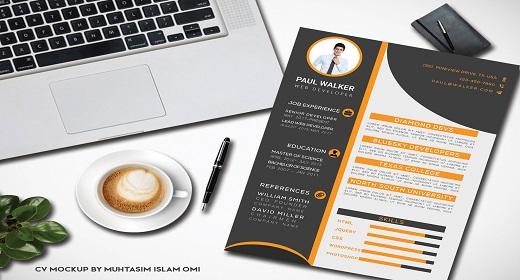 Corporate CV RESUME Design