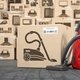 Vacuum cleaner in warehouse with household appliances - PhotoDune Item for Sale