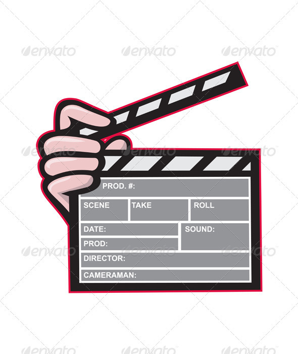 Clapboard Clapperboard Clapper Front  - Man-made Objects Objects