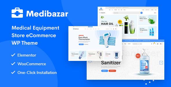 Download Medibazar – Medical WooCommerce Theme Free Nulled
