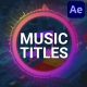 Music Titles | After Effects - VideoHive Item for Sale