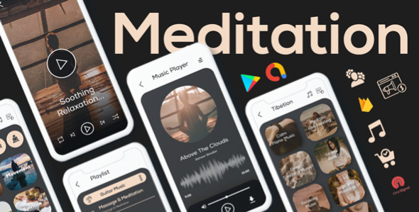 Meditation Relax Android App With PHP Admin Panel / Online Music App With PHP Admin Panel