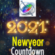 New Year Countdown 2021 - Apple Motion - VideoHive Item for Sale