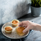 carrot muffins on gray wooden table - PhotoDune Item for Sale