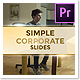 Simple Corporate Slides Luxurious – Premiere Pro - VideoHive Item for Sale