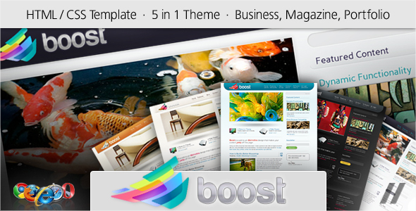 Boost – HTML Corporate and Magazine Site