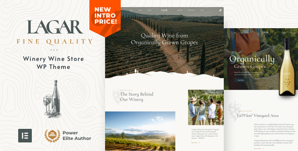 Lagar –  Winery Wine Shop WordPress