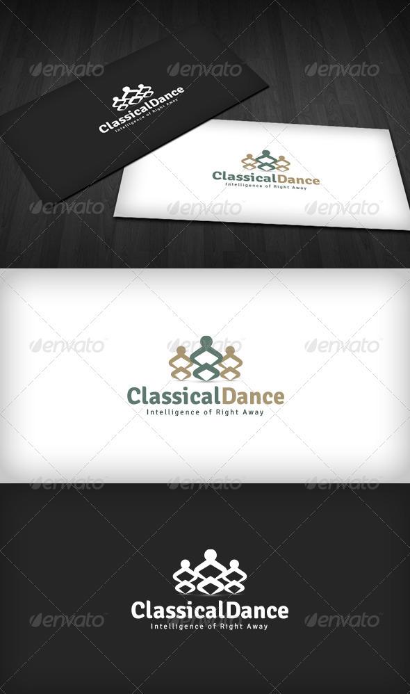 Classical Dance Logo - Humans Logo Templates