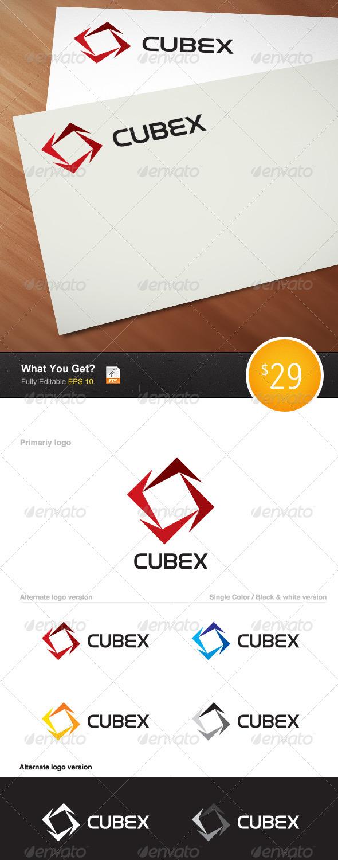 Cubex Logo - Logo Templates