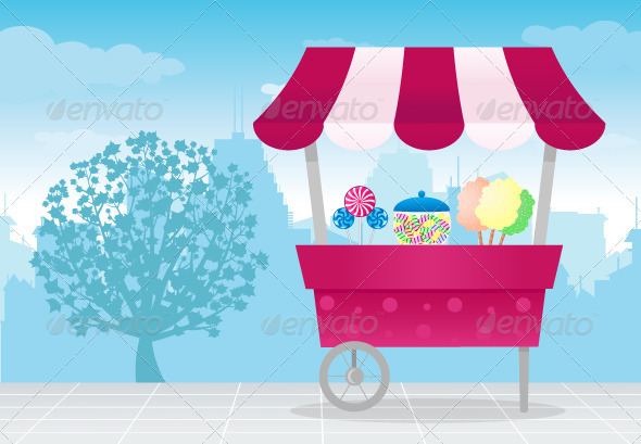 Candy Shop - Objects Vectors