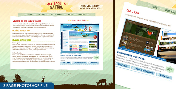 Free Download Get Back To Nature - Photoshop Nulled Latest Version