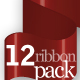 12 Ribbon Package (suitable 960 Grid System) - GraphicRiver Item for Sale