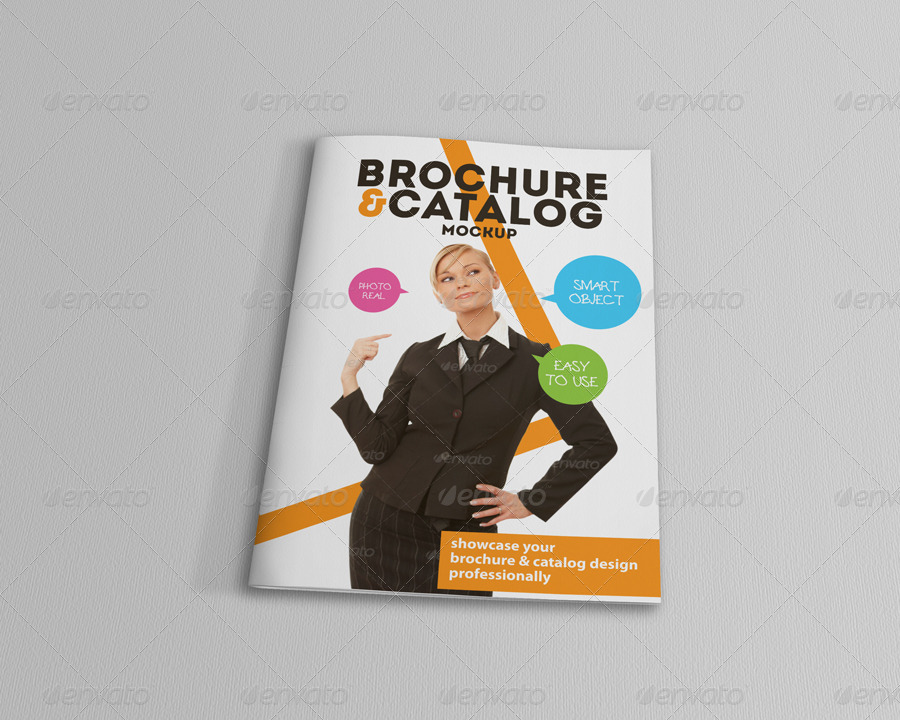 Brochure and Catalog Mockups