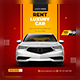 Rent Luxury Car Social Media Template