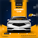 Rent Car Social Media Template