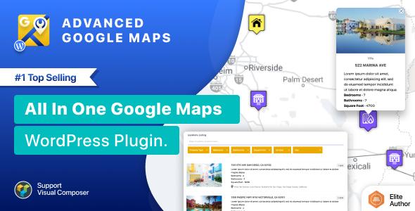 Advanced Google Maps Plugin for Wordpress Nulled