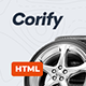 Corify - Car Dealership, Services & Classified HTML Template