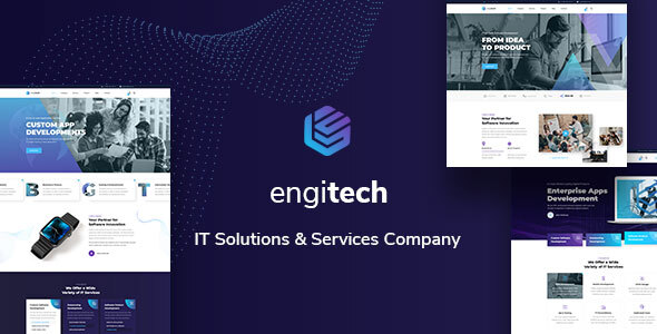 Engitech - IT Solutions & Services Template