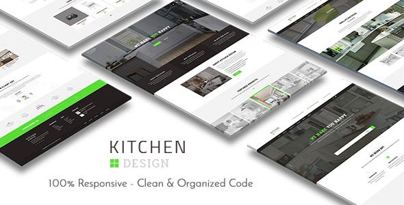 Kitchen - Design Responsive WordPress Theme