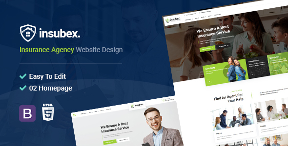 Insubex | Insurance Broker HTML5 Template