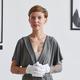 Female Expert in Modern Art Gallery - PhotoDune Item for Sale