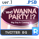 Twitter Background - Big Event - GraphicRiver Item for Sale