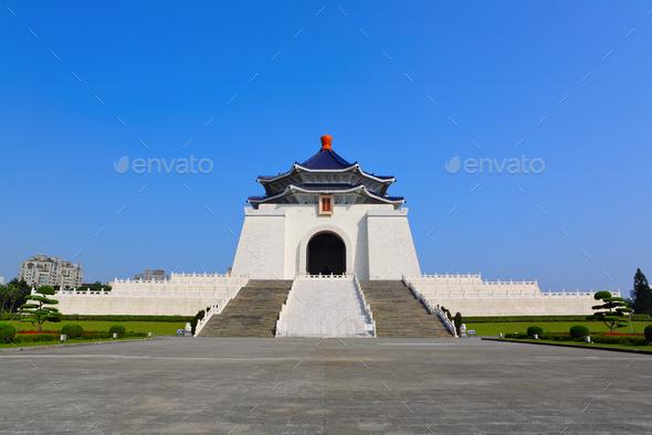 chiang kai shek memorial hall - Stock Photo - Images