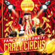 Crazy Circus Party Flyer - GraphicRiver Item for Sale