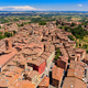 Aerial view of Siena old town, medieval town with ancient architecture, Tuscany, Italy - PhotoDune Item for Sale