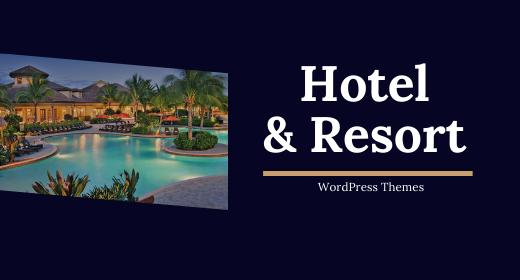 Best Hotel, Resort & Homestay WordPress Theme