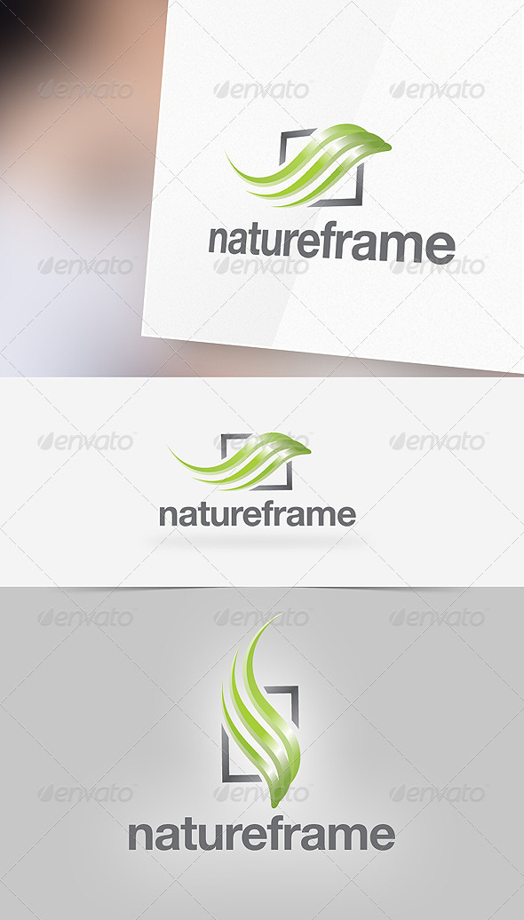 Nature Frame Logo Template - Nature Logo Templates
