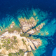 Top down view of Corsican rocky coast - PhotoDune Item for Sale
