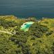 Indonesia landmark of limpid lake of Weekuri at Sumba Island, Philippines. Tropic resort at loch - PhotoDune Item for Sale