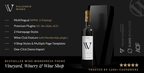 Villenoir - Vineyard, Winery & Wine Shop
