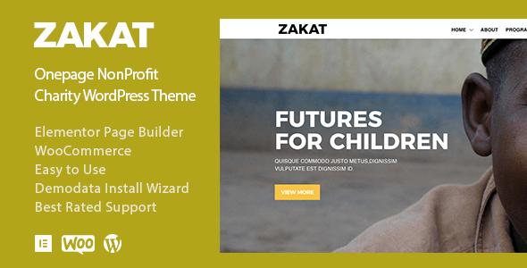 Great Zakat - Charity Donation Nonprofit WordPress Theme