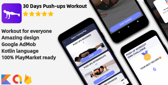 Push-ups Workout - Android Workout Application