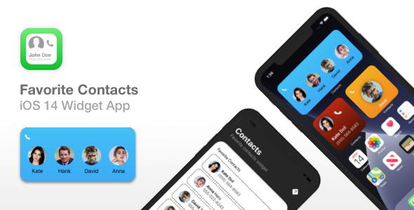 Favorite Contacts - iOS 14 Widget app   In-App Purchases