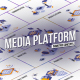 Media platform - Isometric Concept - VideoHive Item for Sale