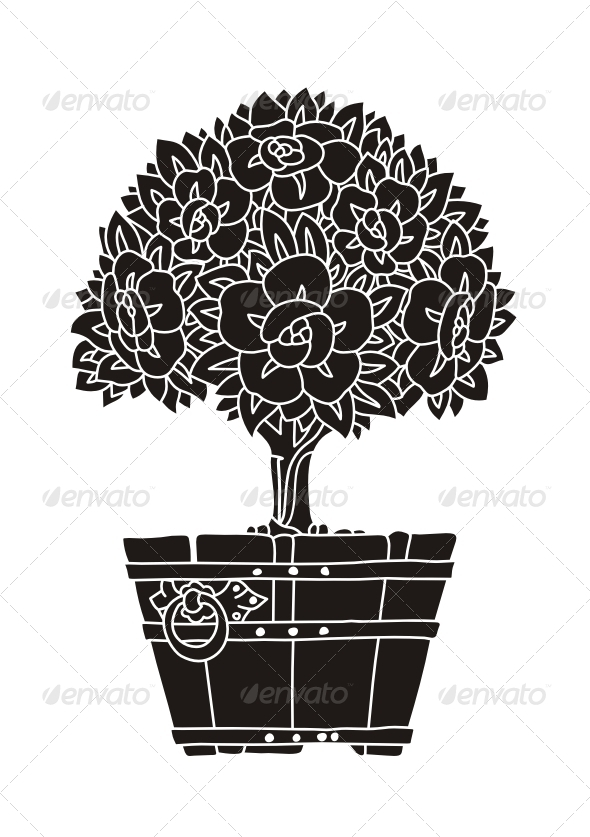 Decorative Tree - Organic Objects Objects
