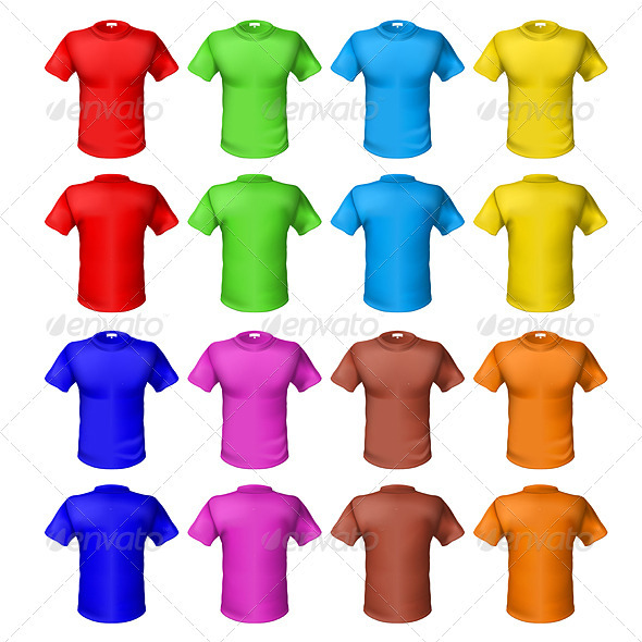 Bright colored shirts - Man-made Objects Objects