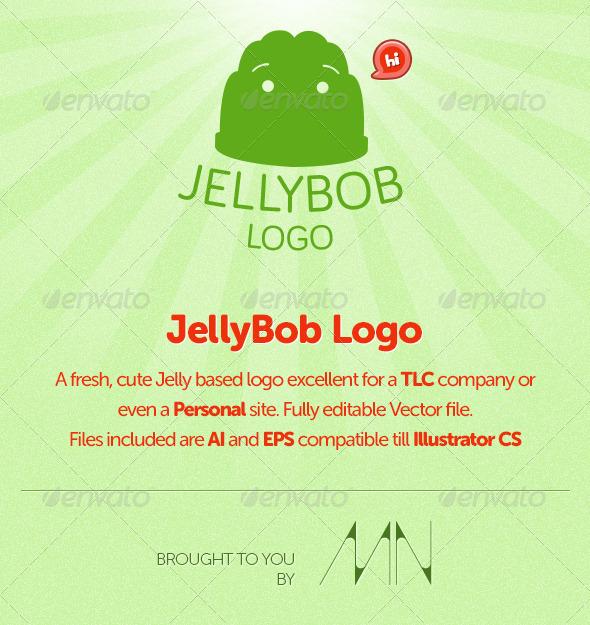 Jelly Bob Logo - Food Logo Templates