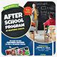 Kids Education School Flyer