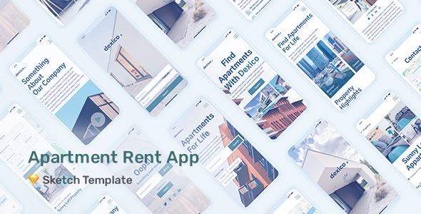 Dexico – Apartment Rent App for Sketch