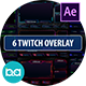 Twitch Overlay Stream | After Effects